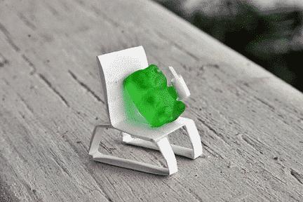 Relaxing Gummy Bear